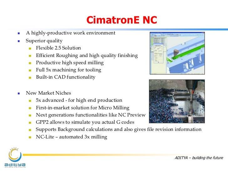 CimatronE Solutions