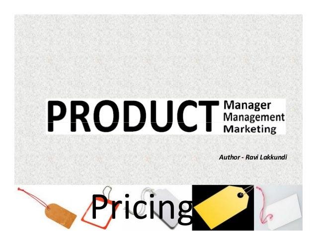 Author - Ravi Lakkundi  Pricing