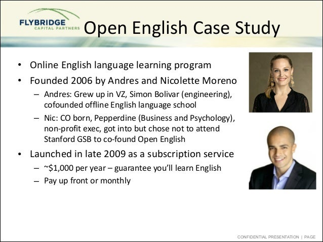 case study an english language learner Identifying gifted and talented english language learners: a case study bryn harris university of colorado denver jonathan a plucker, kelly e rapp, and rebecca s martínez indiana university with the sharp rise in students who are english language learners (ell), research.