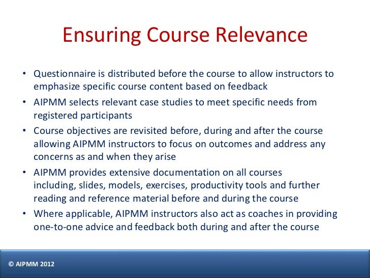 Product Management Certification in Singapore - H. Del Castillo, AIPM…