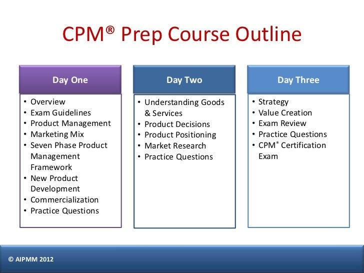 certification management cpm aipmm castillo exam singapore prepare