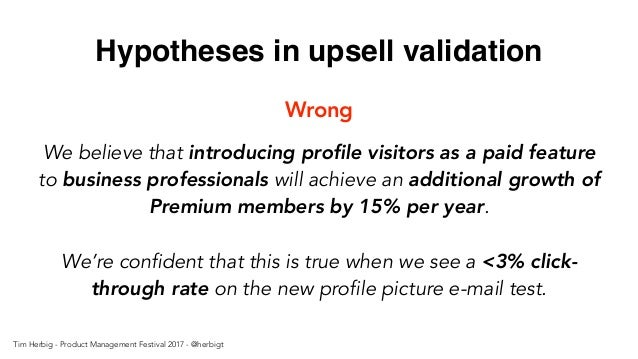 We believe that introducing profile visitors as a paid feature to business professionals will achieve an additional growth...