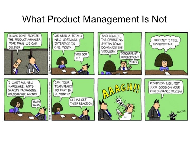 What Product Management Is Not