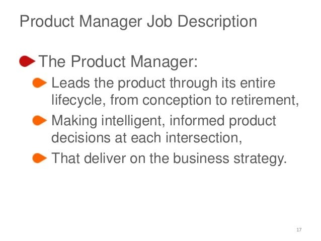 Product Management Roles Briefly Explained – Product Manager Job Description
