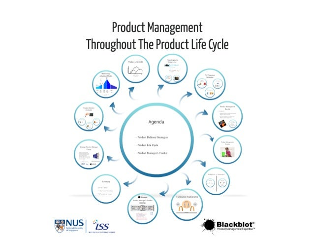 Product management throughout the product life cycle