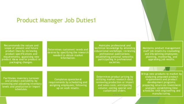 Product manager job description – Product Manager Job Description