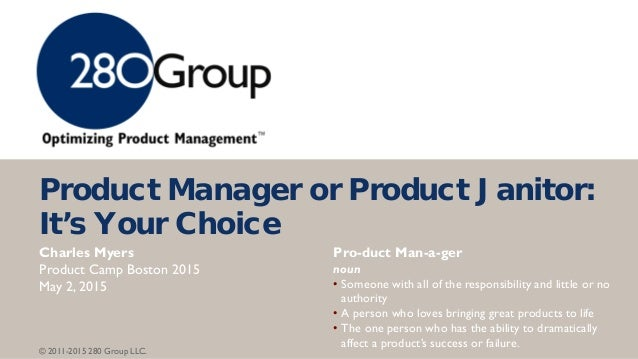 Product manager or product janitor its your choice product manager or product janitor its your fandeluxe Images