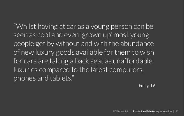 """""""Whilst having at car as a young person can be seen as cool and even 'grown up' most young people get by without and with ..."""