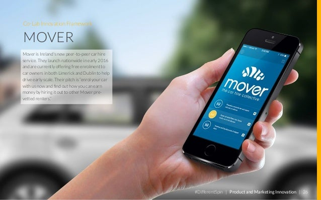 Co-Lab Innovation Framework BMW DRIVENOW #DifferentSpin | Product and Marketing Innovation | 27 DriveNowis a joint ventur...