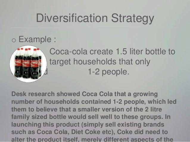 Diversification strategy market penetration