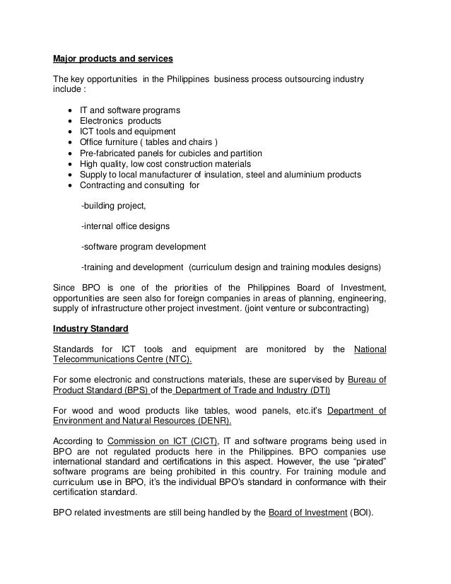 study on furniture industry in philippines The effects and implications of the new dole do 174 on contractualization in the retail industry  philippine retailers association  pasig city, philippines.