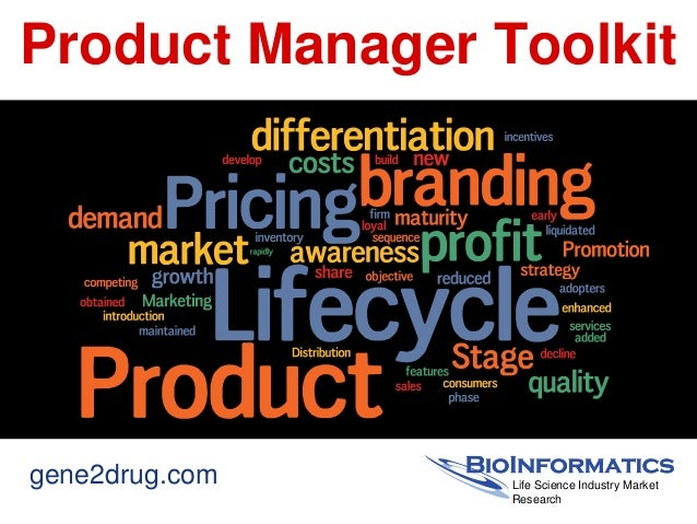 Product Manager Toolkitgene2drug.com    Life Science Industry Market                 Research