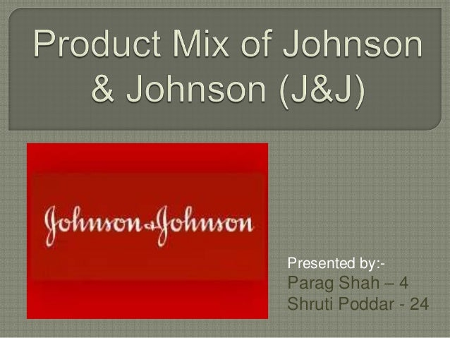 marketing mix for johnson and johnson Nick johnson is founder and ceo of the incite group, a leading business intelligence firm that provides highly relevant, research-based insights on customer experience for the marketing, communications, and advertising communities.