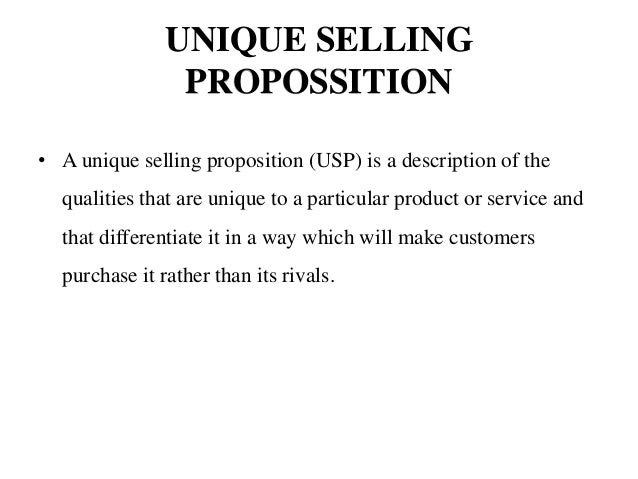 unique selling proposition usp soft drink company Find out what a unique selling proposition (usp) is and how to create one for your business  to communicate a particular company's slogan for their product or .