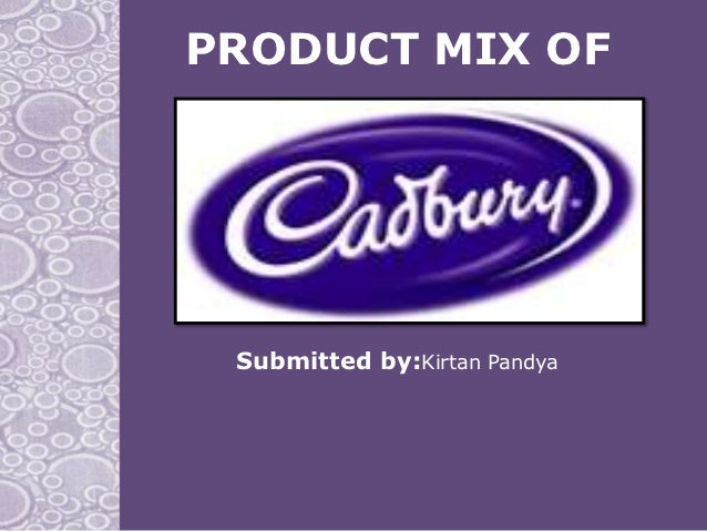 PRODUCT MIX OF Submitted by:Kirtan Pandya