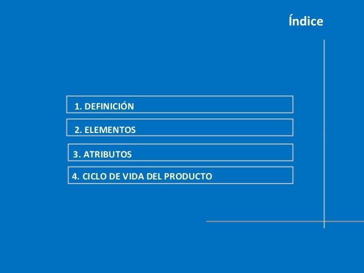El Marketing: El Producto Slide 2