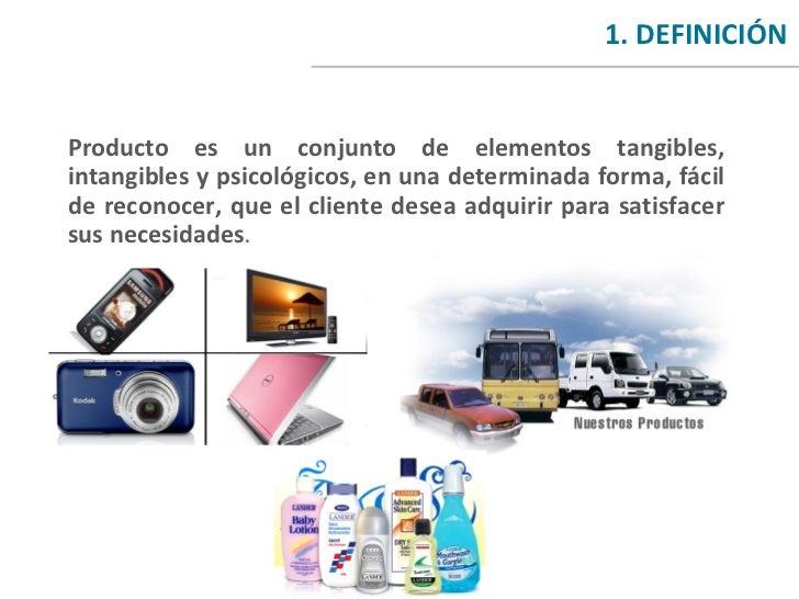 El Marketing: El Producto Slide 3