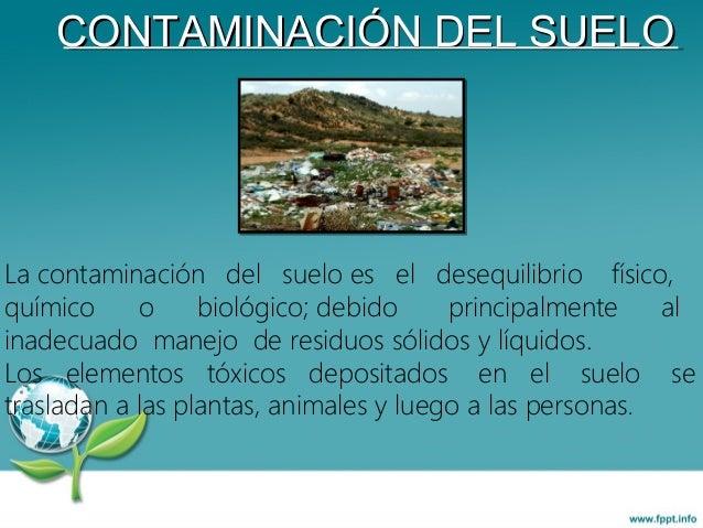 Contaminaci n por bolsas de plastico for Que elementos conforman el suelo