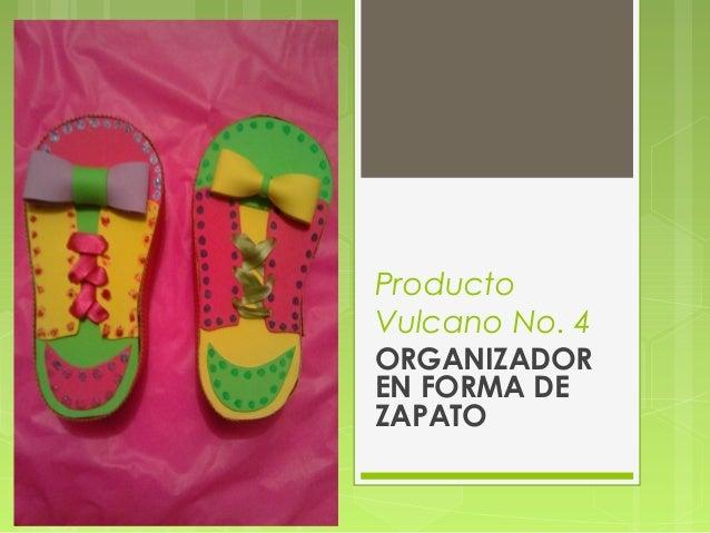 Producto Vulcano No. 4 ORGANIZADOR EN FORMA DE ZAPATO