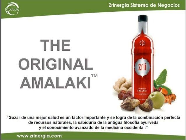 PRODUCTO ZRII AMALAKI ORIGINAL