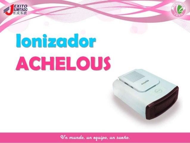 Ionizador ACHELOUS