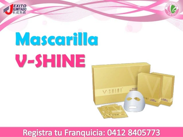Mascarilla V-SHINE