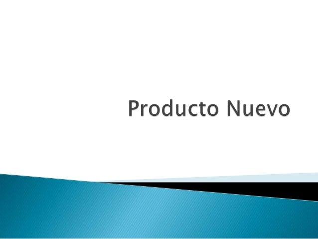 """""""Un producto es un conjunto de atributos  fundamentales unidos en una forma  identificable """""""