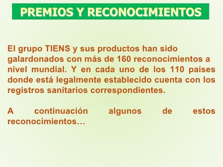 El grupo TIENS y sus productos han sido  galardonados con más de 160 reconocimientos a  nivel mundial. Y en cada uno de lo...