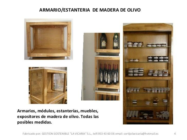 Productos De Madera
