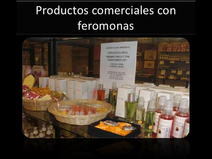Productos comerciales con       feromonas