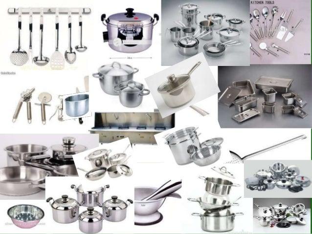 Productos de cocina de acero inoxidable for Productos para cocina