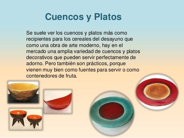 Productos decorativos ceramica y vidrio - Platos decorativos modernos ...