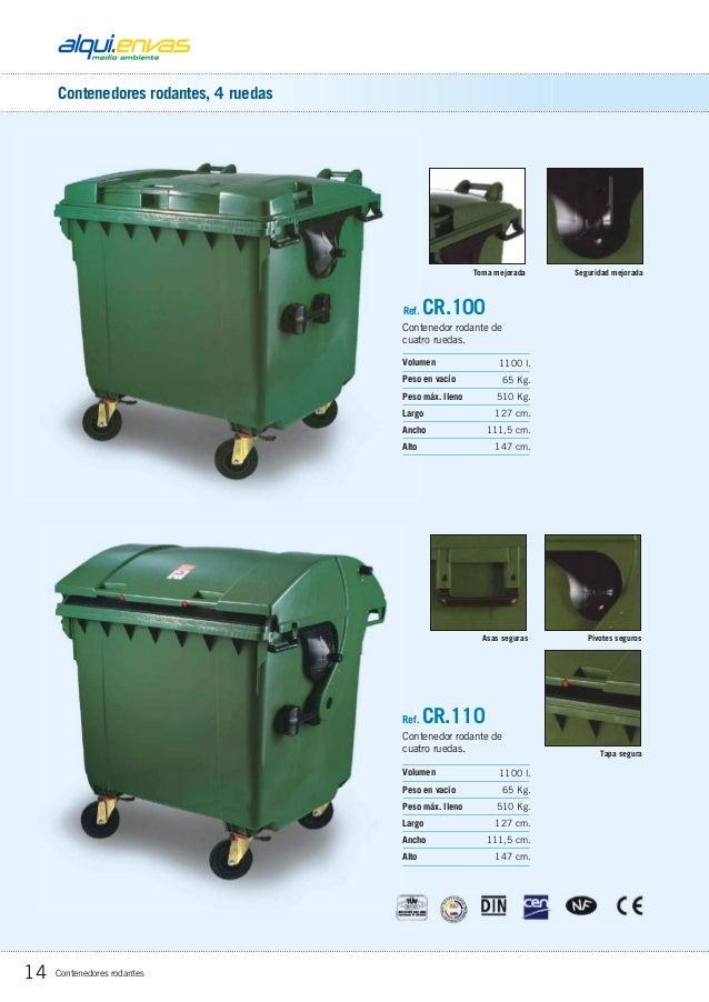 Productos para la recogida de residuos - Contenedor de agua ...