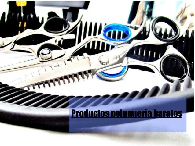 productos peluqueria baratos