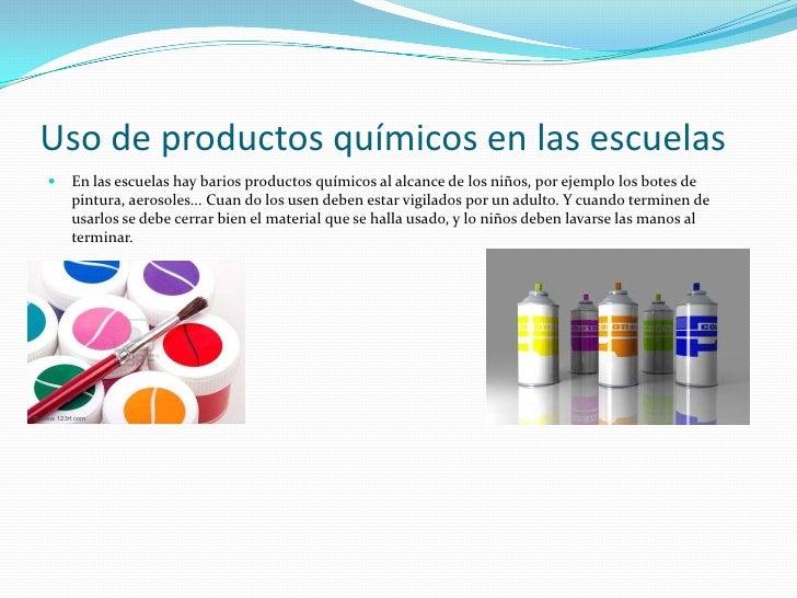 Productos químicos Slide 2