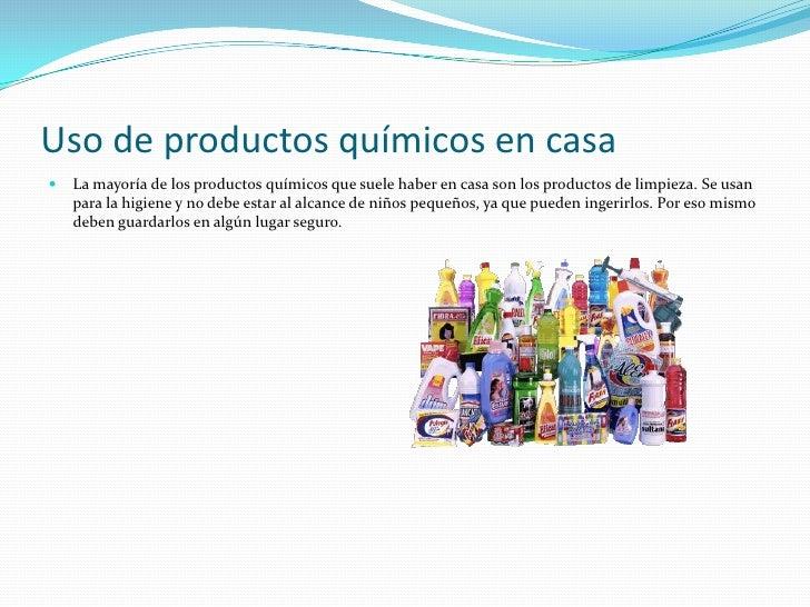 Productos químicos Slide 3
