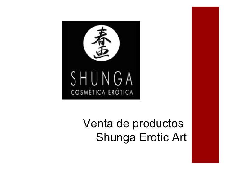 Venta de productos  Shunga Erotic Art