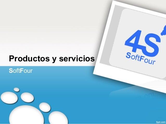 Productos y serviciosSoftFour