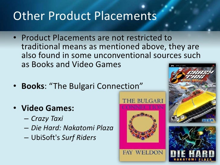 research paper on product placement Open document below is an essay on product placement from anti essays, your source for research papers, essays, and term paper examples.