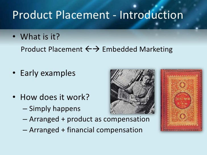 effectiveness of product placement in hindi movies essay A promotional strategy of growing interest is the placement of branded products  in movies an experiment compared the recall effectiveness of.