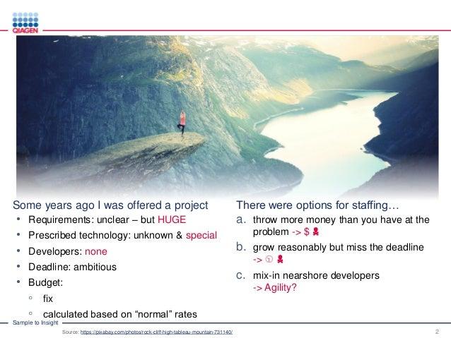 Agile in Distributed Team Setups Slide 2