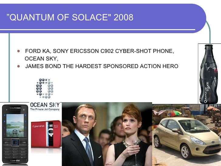 James bond sony ericson product placement casinon royale valley view casino buffet review