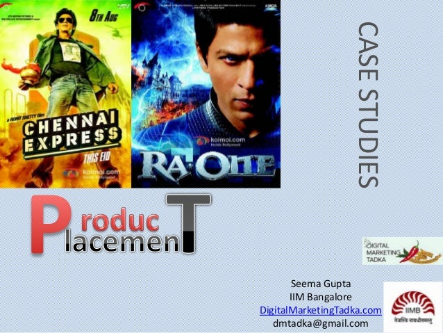 CASE STUDIES Seema Gupta IIM Bangalore DigitalMarketingTadka.com dmtadka@gmail.com