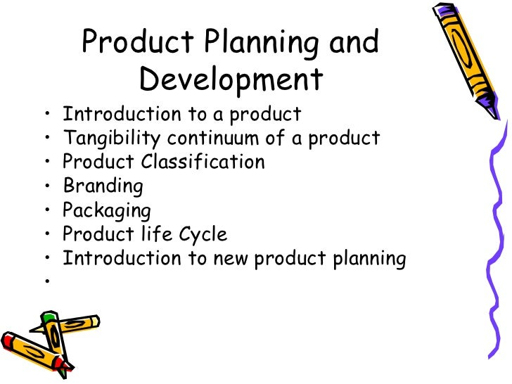 An introduction to product planning and development