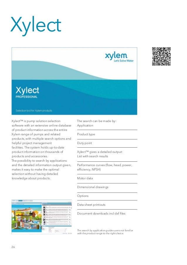 Algemeen Productportfolio Xylem