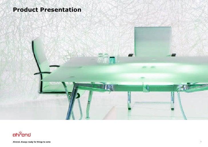 Product Presentation 2010 (Usa)