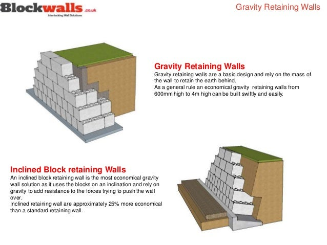 Concrete Wall Design Eurocode : Gravity wall design best retaining