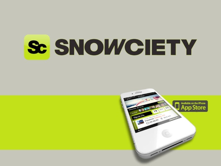The first social skiing          app