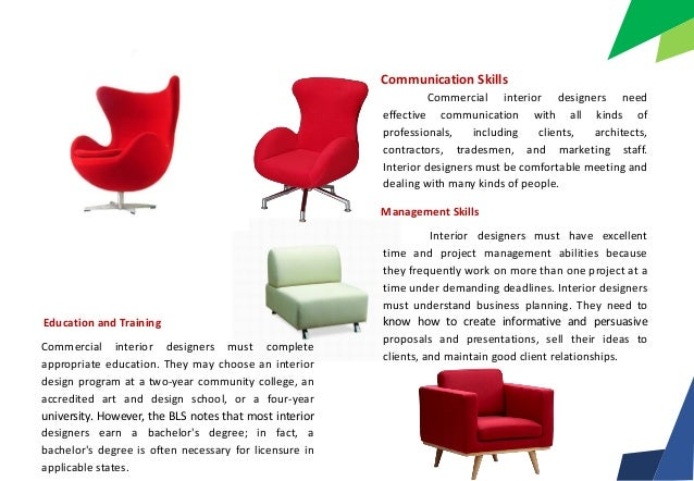 Cool Skills Commercial Interior Designers With How Many Years Of College To Be A Designer