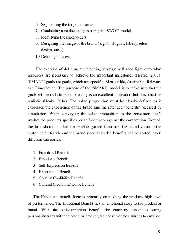 marketing research paper topics